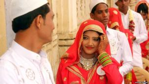 5. A mass marriage of Muslim community held in Ahmedabad