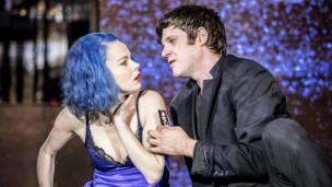 Amy Lennox and Michael Esper in Lazarus