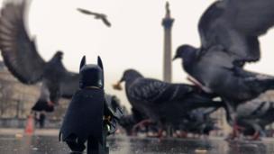 Bat's Eye View of London