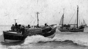The Manchester Unity of Oddfellows is Sheringham's longest serving lifeboat and was in use between 1961 and 1990.