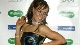 Tara Palmer-Tomkinson on 25 November 2003