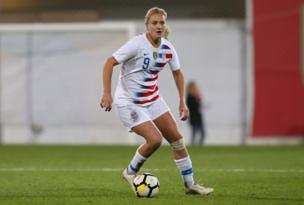 Lindsey Horan, jugadora EEUU