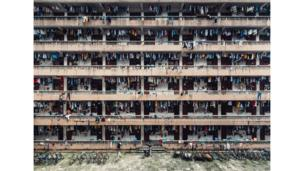School dormitories in Guangzhou, Guangdong Sheng, China