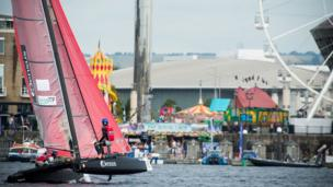 Extreme Sailing in Cardiff