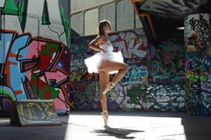 راقصة بالية