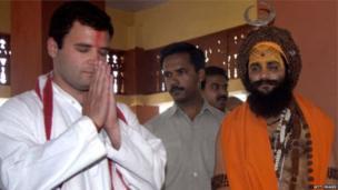 राहुल यांना अनेक मंदिरांना भेट दिली आहे.