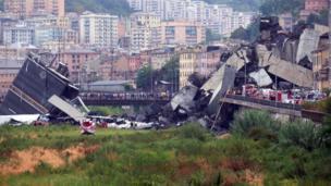 สื่อท้องถิ่นรายงานว่าจุดที่ชิ้นส่วนของสะพานถล่มลงไปนั้นเป็นบริเวณที่มีชุมชนอาศัยอยู่อย่างหนาแน่น