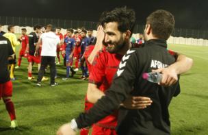 نخستین پیروزی اوتو فیستر با افغانستان در مقابل سنگاپور