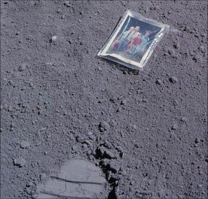 Duke family portrait on Moon
