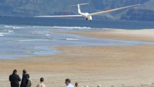 Ulster Gliding Club glider