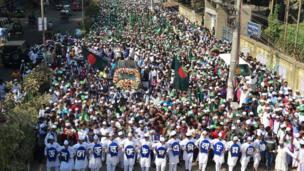 جشن تولد پیامبر اسلام در داکا، بنگلادش