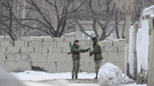 Көк-Таш айлына кирген Дахма деген жерде кыргыздар менен тажиктер көптөн бери катарлаш жашап келатат.