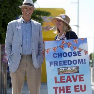Tại Anh, phái Brexiteer hay còn gọi là Những người muốn rời EU cổ vũ cho sự lựa chọn tự do