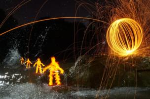 in_pictures Light painting