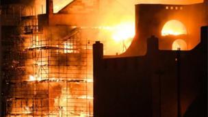 Glasgow School of Art fire