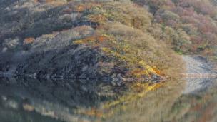 Penygarreg Reservoir, in Rhayader, Powys