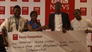 Izeowayi collect one year academic book scholarship