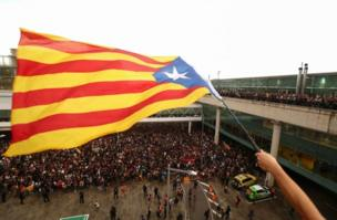 Manifestaciones en El Prat