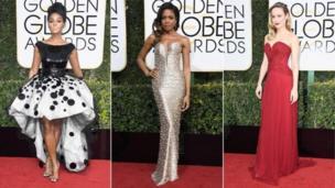 Janelle Monae, Naomie Harris và Brie Larson cũng có mặt trên thảm đỏ
