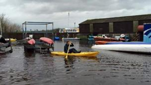 Flooding in County Fermanagh