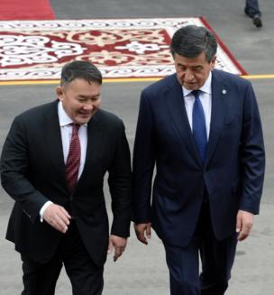 Бир күн мурун Бишкекке Монголия президенти Халтмаагийн Баттулга келди