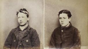 Oxford Castle mugshots of children