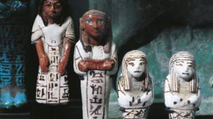 Ancient Egyptian servant statues