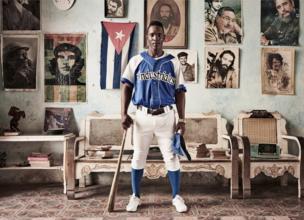 Yoasan Guillen, a Cuban baseball player