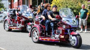 Erskine hospital bike event