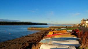 Findhorn Bay, Moray