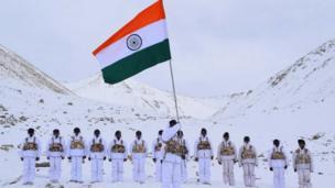 انڈیا کا 70 واں یوم جمہوریہ تصویروں میں