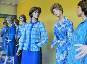 A group of mannequins