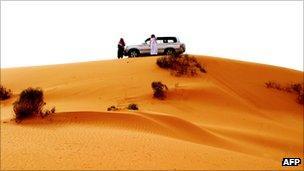 Sand dune in Saudi Arabia