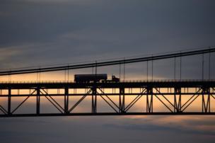 in_pictures The Mackinac bridge