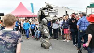 A robot at the Balmoral Show