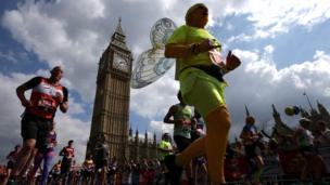 London, London Marahton, atletik