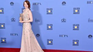 Emma Stone là ứng cử viên hàng đầu cho giải Oscar sau khi cô nhận giải Golden Globe cho nữ diễn viên hay nhất cho phim hài hay phim ca nhạc.