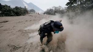 Guatemala, Fuego, gunung berapi