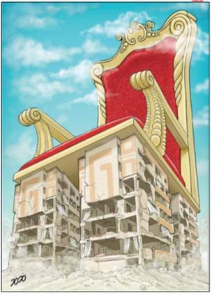 کارتون محمد طحانی. ابتکار
