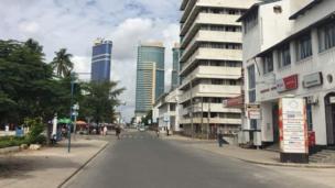 Mitaa imekuwa mitupu tofauti na msongamano wa magari na wingi wa watu kila siku.