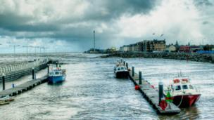 Roger Burman, from Rhyl, took this atmospheric photograph of the seaside town