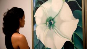 Georgia O'Keeffe exhibition