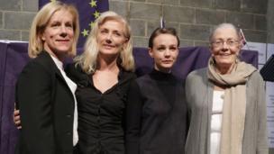 Juliet Stevenson, Joely Richardson, Carey Mulligan and Vanessa Redgrave