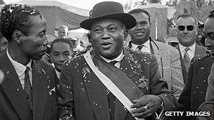 Madagascar's first president Philibert Tsiranana