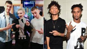 Clean Bandit and Rae Sremmurd