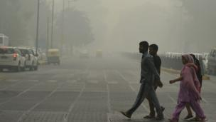 دہلی میں سموگ