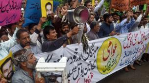 مہنگائی کے خلاف احتجاج