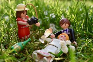 Fotógrafa de Playmobile