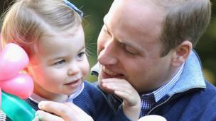 夏洛特公主和父亲