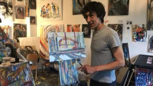 Trại sáng tác tự do cho nghệ sỹ không nhà ở số 59 Rue de Rivoli, Paris
